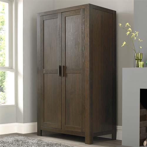 Bentley designs lyon walnut double wardrobe furniture123 for Furniture 123 code